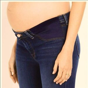 J brand maternity flare boot cute jeans side panel